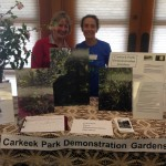 Drexie Malone and Kathy Pendras, Master Gardner Volunteer Fair; March 2016