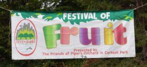 Festival of Fruit banner