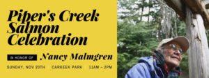Salmon Celebration in honor of Nancy Malmgren